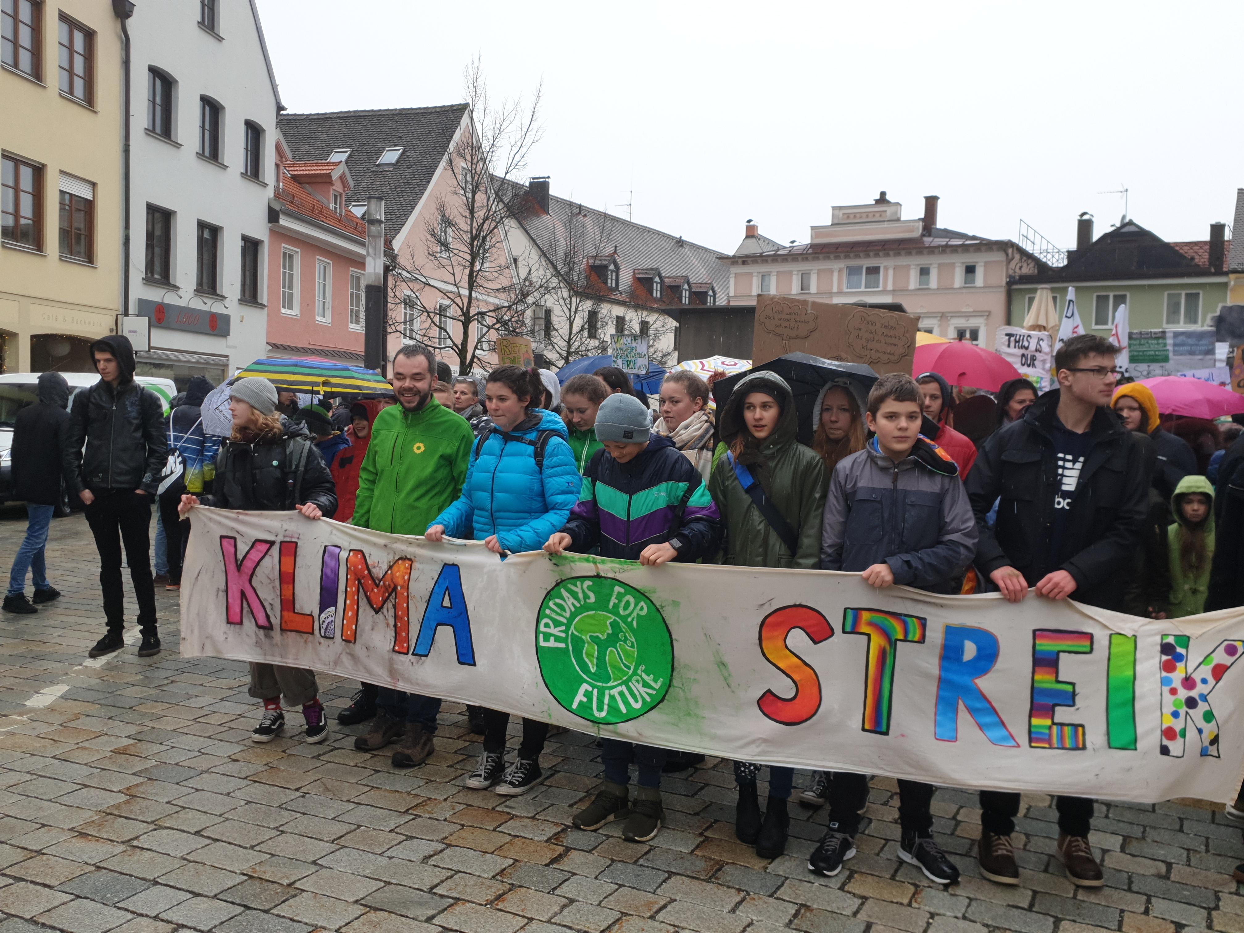 Klimastreik Weilheim