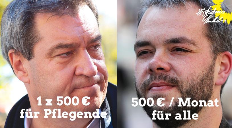 Andreas Krahl 500 Euro für alle