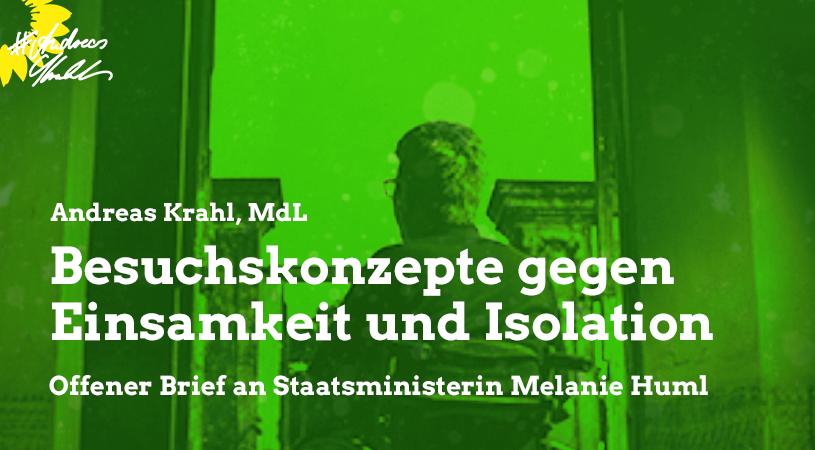 Andreas Krahl Besuchskonzepte gegen Einsamkeit und Isolation