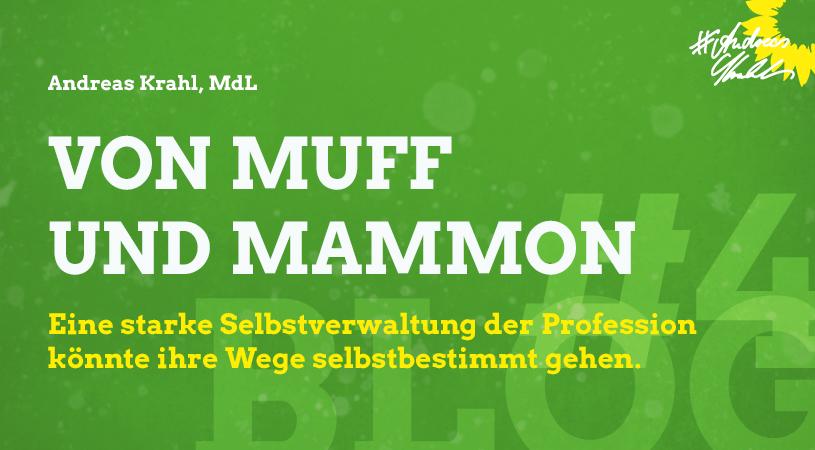 Andreas Krahl Von Muff und Mammon