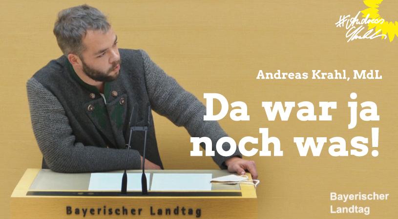 Andreas Krahl Da war ja noch was
