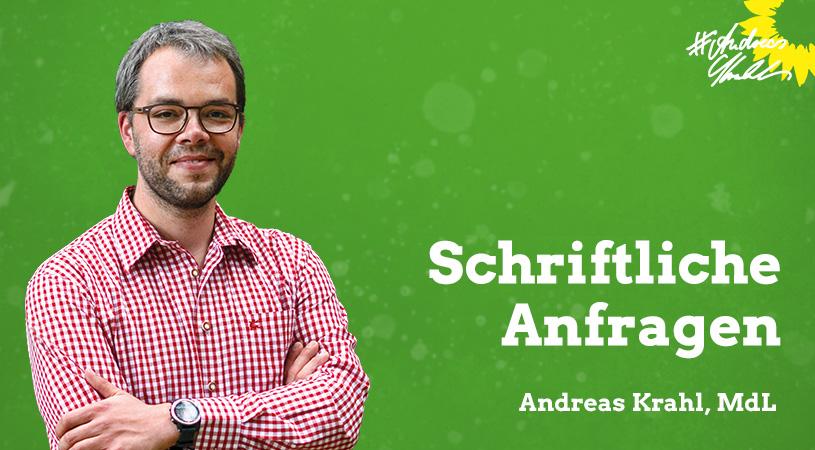 Andreas Krahl Schriftliche Anfragen